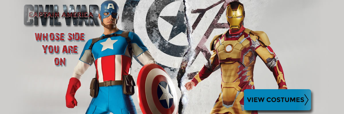 Civil War Captain America and Iron Man Costumes