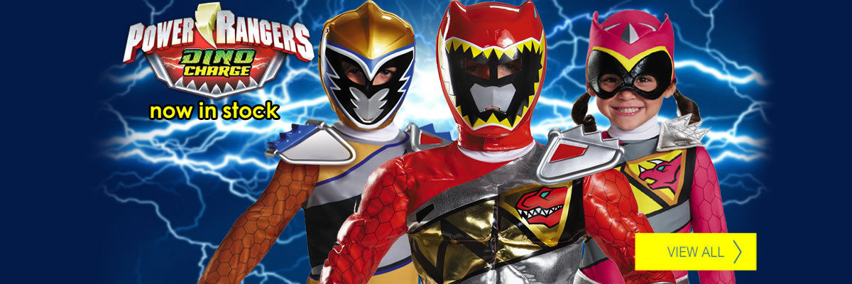 Power Rangers Dino Charge Halloween Costumes