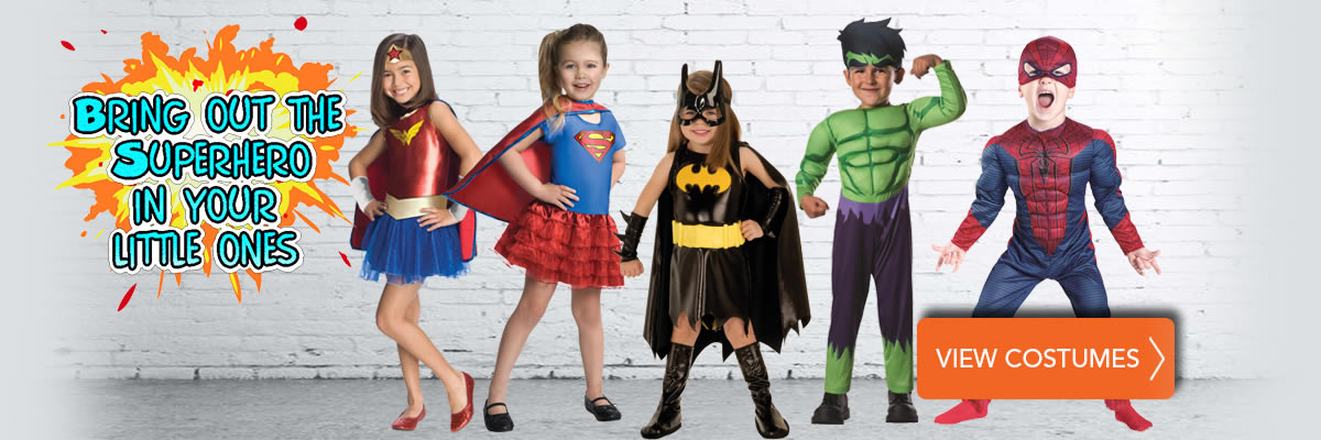 Superhero Costumes for Toddlers