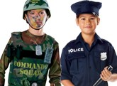 Boys Police And Army Costumes