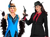 Womens Gangster and Flapper Costumes