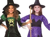 Girls Witch And Vampire Costumes