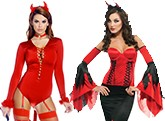 Womens Devils Costumes
