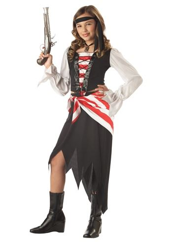 Click here to view Large Image  sc 1 st  The Costume Land & Kids Ruby The Pirate Beauty Girls Costume | $23.99 | The Costume Land