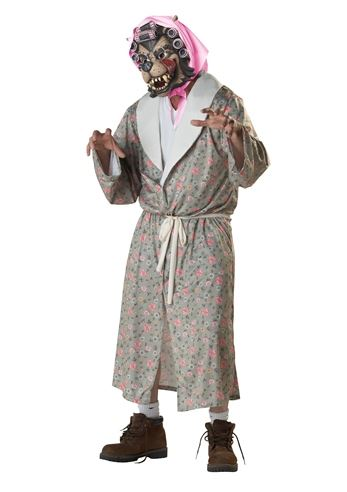 Click here to view Large Image  sc 1 st  The Costume Land & Adult Grandma Wolf Men Zombie Costume | $49.99 | The Costume Land