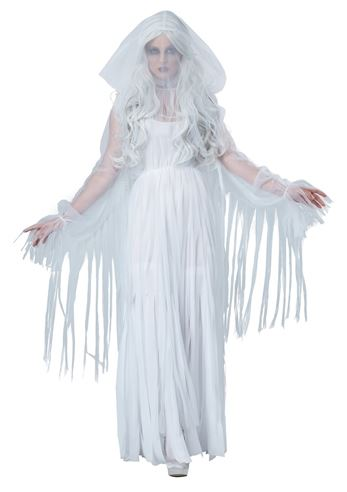Click here to view Large Image  sc 1 st  The Costume Land & Adult Ghostly Spirit Woman Halloween Costume | $47.99 | The Costume Land