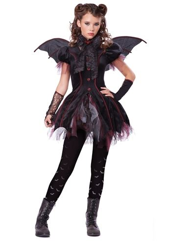 Click here to view Large Image  sc 1 st  The Costume Land & Kids Victorian Vampiress Tween Girl Costume | $45.99 | The Costume Land