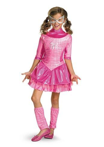 Kids Spider Girl Pink Girls Costume | $23.99 | The Costume Land