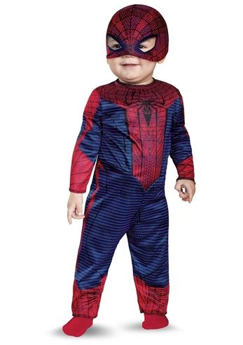 Click here to view Large Image  sc 1 st  The Costume Land & Kids Amazing Spider Man Infant Costume | $14.99 | The Costume Land