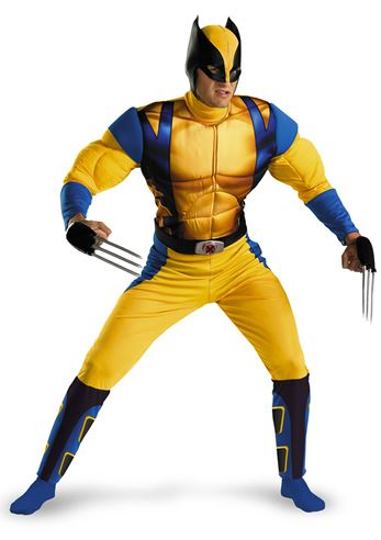 X Men Wolverine Men Costume