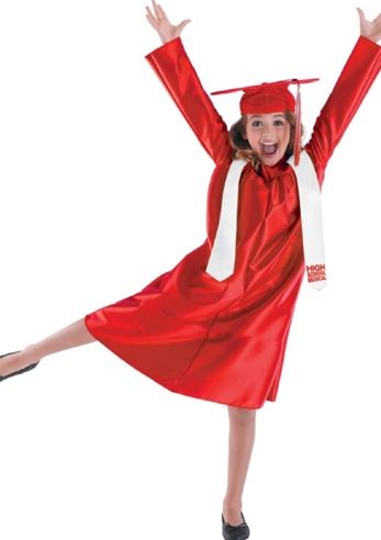 Kids Cap And Gown Graduation Costume 9 99 The Costume