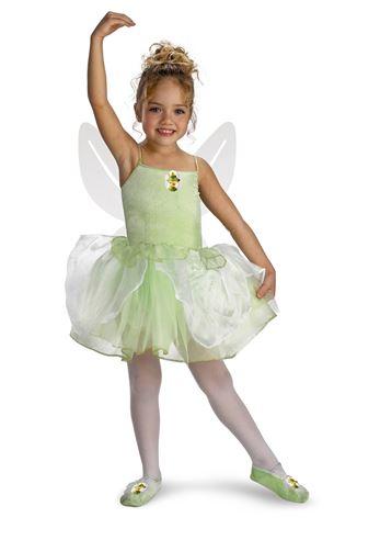 Kids Tinkerbell Ballerina Girls Costume  392c7a1e9802