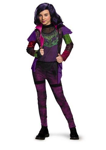 kids disney descendants mal girls costume