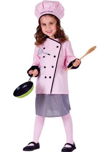 Kids Master Chef Girl Costume