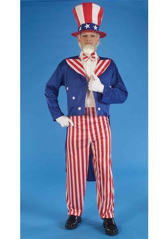 Adult Uncle Sam Men Costume | $23.99 | The Costume Land