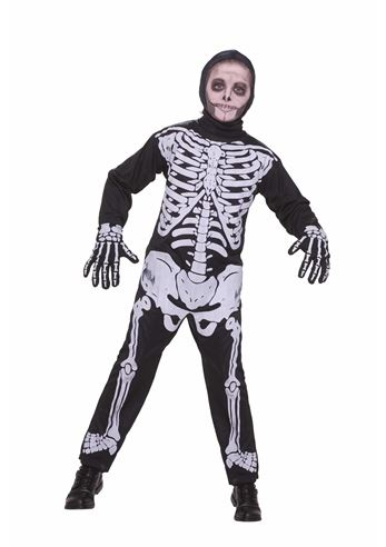 kids boys classic skeleton halloween costume 1999 the costume land - Skeleton Halloween Costume For Kids