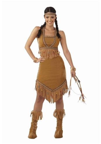 Click here to view Large Image  sc 1 st  The Costume Land & Adult Native American Princess Women Costume | $24.99 | The Costume Land