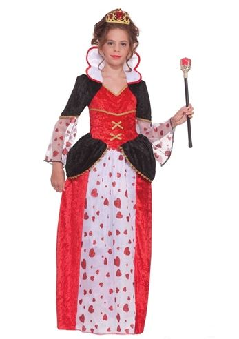 Click here to view Large Image  sc 1 st  The Costume Land & Kids Queen Of Hearts Tween Girls Costume | $24.99 | The Costume Land