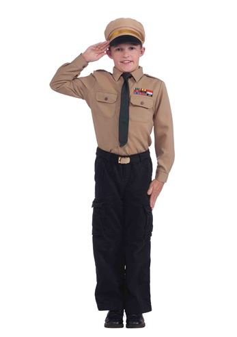 kids boys instant army costume - Halloween Army Costume