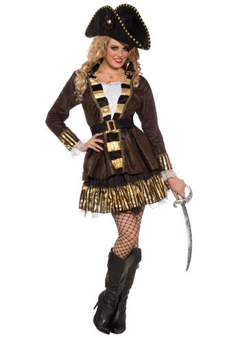 Click here to view Large Image  sc 1 st  The Costume Land & Adult Buccaneer Queen Woman Pirate Costume | $36.99 | The Costume Land