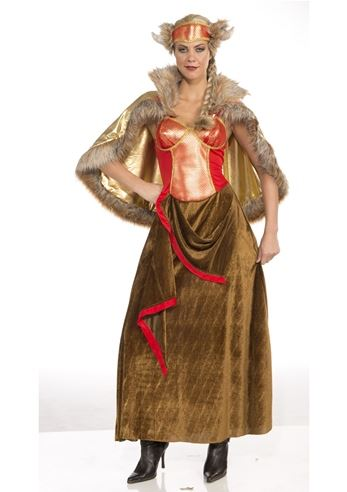 Click here to view Large Image  sc 1 st  The Costume Land & Adult Viking Queen Woman Costume | $49.99 | The Costume Land