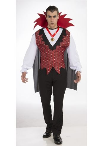 Halloween Costumes Scary Men.Details About Vampire Men Halloween Costume New Dress Fancy Halloween Scary