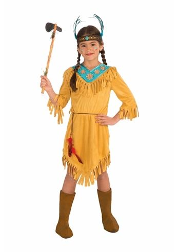 kids little flower girls native american costume 2599 the costume land - Native American Costume Halloween