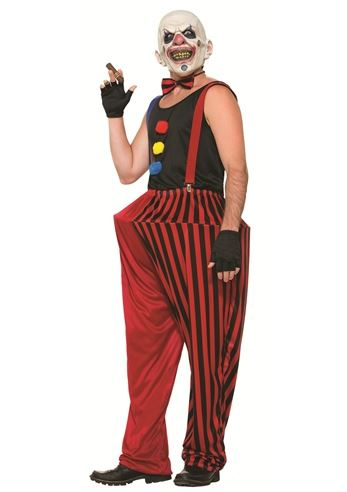Click here to view Large Image  sc 1 st  The Costume Land & Adult Clown Wicked Twisted Men Halloween Costume | $42.99 | The ...