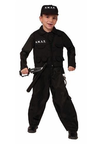 Kids Boys SWAT Police Costume | $30.99 | The Costume Land