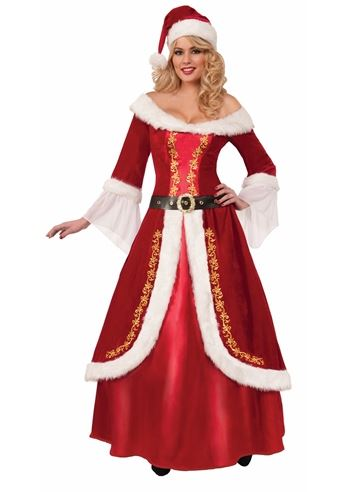 Claus deluxe woman christmas halloween costume 67 99 the costume