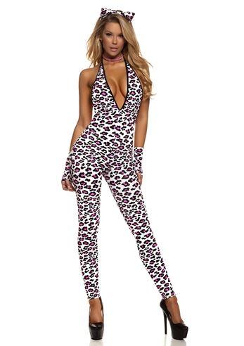 adult lustful leopard sexy cat women costume