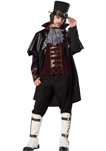 adult men steampunk victorian vampire costume - Halloween Costumes Victorian