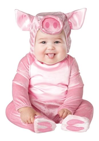 Brand New Little Piggy Toddler Baby Halloween Costume by Incharacter Costumes - Image 1  sc 1 st  eBay & Little Piggy Toddler Baby Costume Kids Animal Outfit Halloween Pig ...