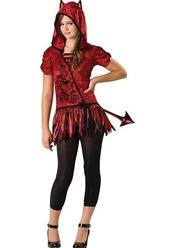Kids Devil in da Hood Girls Costume | $26.99 | The Costume Land