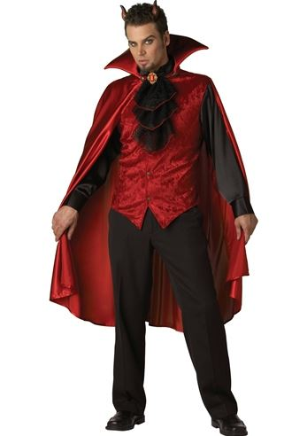 Halloween Costume 303.Adult Dashing Devil Men Costume