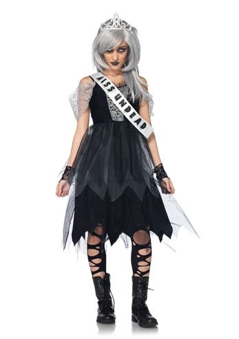 Kids Zombie Prom Queen Girl Costume | $37.99 | The Costume Land