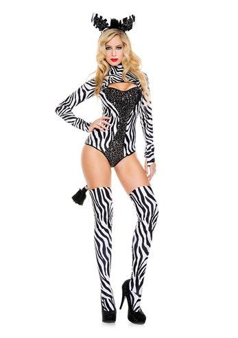 sc 1 st  The Costume Land & Adult Zebra Woman Costume | $50.99 | The Costume Land