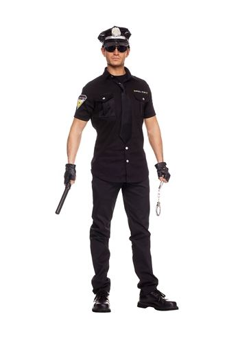 sc 1 st  The Costume Land & Adult Police Officer Men Costume | $41.99 | The Costume Land