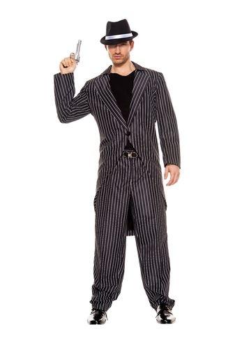 Adult Mafia Men Gangster Costume  sc 1 st  The Costume Land & Adult Mafia Men Gangster Costume | $34.99 | The Costume Land