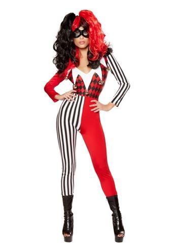 Adult Mischievous Jester Women Costume | $56.99 | The Costume Land