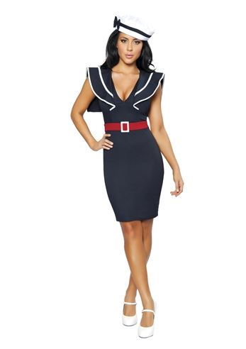adult captains choice women sailor costume - Sailors Halloween Costumes