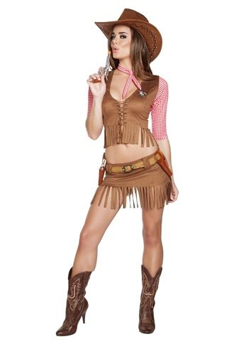 Adult Cowboy Western Country Cutie Woman Costume