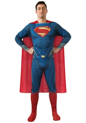 Adult Man Of Steel Plus Super Man Costume Men | $53.99 | The Costume Land