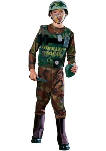 kids u s army commando boys costume 3299 the costume land - Boys Army Halloween Costumes