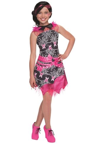 Click here to view Large Image  sc 1 st  The Costume Land & Kids Draculaura Girls Monster High Costume | $23.99 | The Costume Land