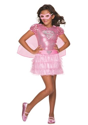 sc 1 st  The Costume Land & Kids Pink Supergirl Costume | $46.99 | The Costume Land