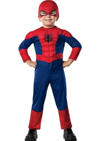 Kids Spiderman Toddler Boys Costume | $28.99 | The Costume Land