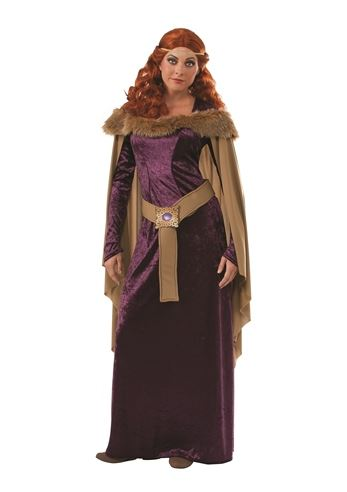 Renaissance Princess Woman Deluxe Royal Queen Costume by Incharacter Costumes