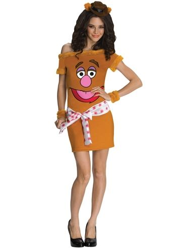 Click here to view Large Image  sc 1 st  The Costume Land & Adult The Muppets Fozzie Bear Women Costume | $43.99 | The Costume Land