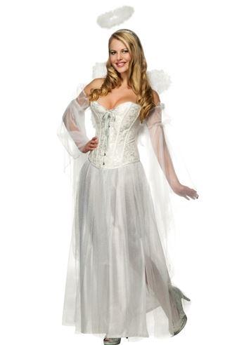 adult sexy corset deluxe women angel costume  3916